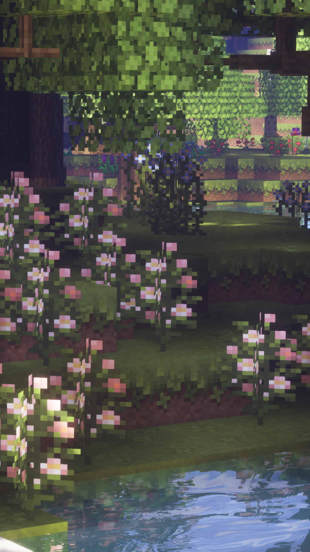 More Wallpapers With Peonies Minecraft Aesthetic Minecraft Wallpaper Minecraft Pictures Mc Wallpaper