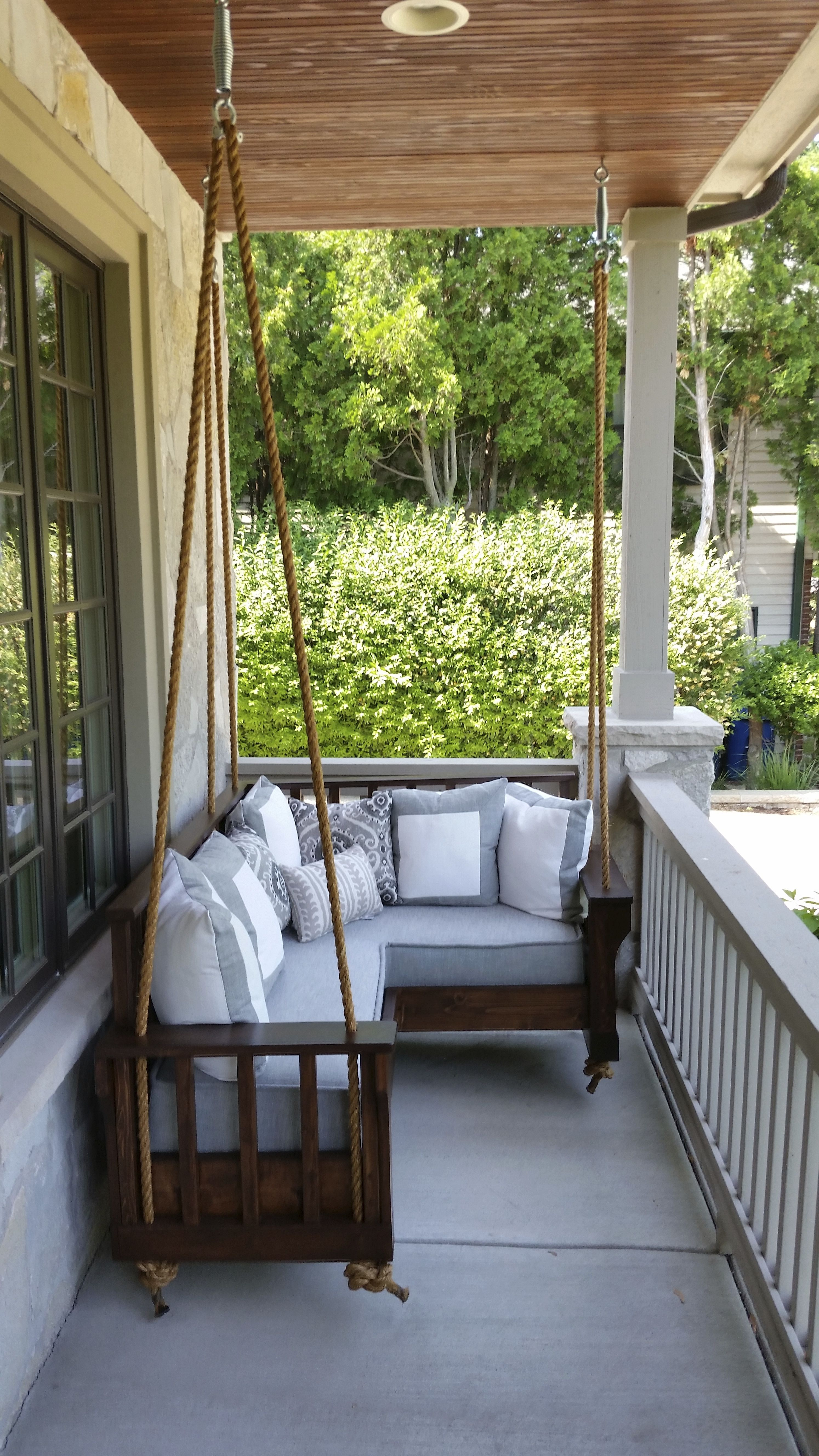extra swing seating summer porch decor outdoor porch on porch swing ideas inspiration id=93497