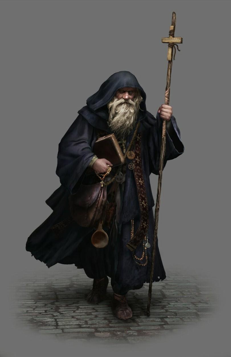 Wizards & Sorcerers de Rulopez616 em 2020 | Personagens masculinos ...