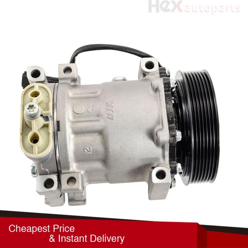 Hex AutoParts A/C Compressor & Clutch Fits Dodge Dakota