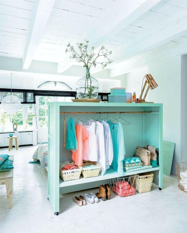 ankleidezimmer selber bauen inspirierende ideen und bilder raumteiler trenner pinterest. Black Bedroom Furniture Sets. Home Design Ideas