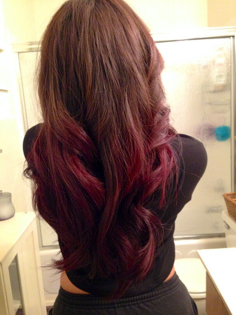 K- pak red ombre