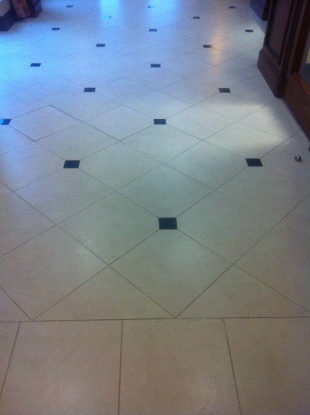 Diamond Shape Floor Tiles With Inserts Tile Floor Diamond Shapes Flooring