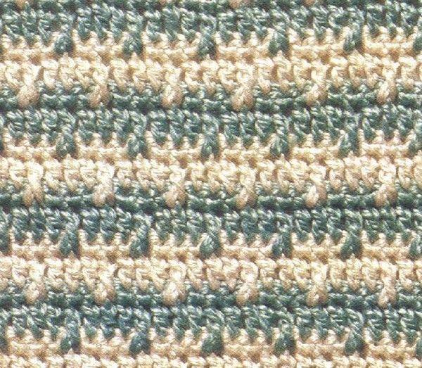 patrones-crochet-a-dos-colores-22 | cobijita | Pinterest | Patrones ...