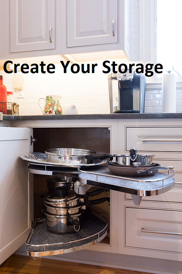 Making Storage Easy And Unique! Made To Fit Your Needs! Carefree Kitchens,  Inc