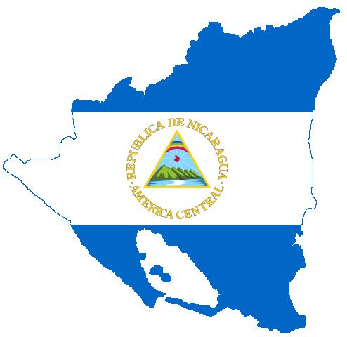 File Flag Map Of Nicaragua Png Wikimedia Commons Nicaragua Flag Flag Flag Art
