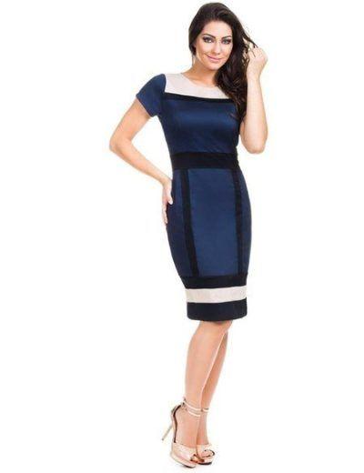 modelos de vestidos evangélicos colados