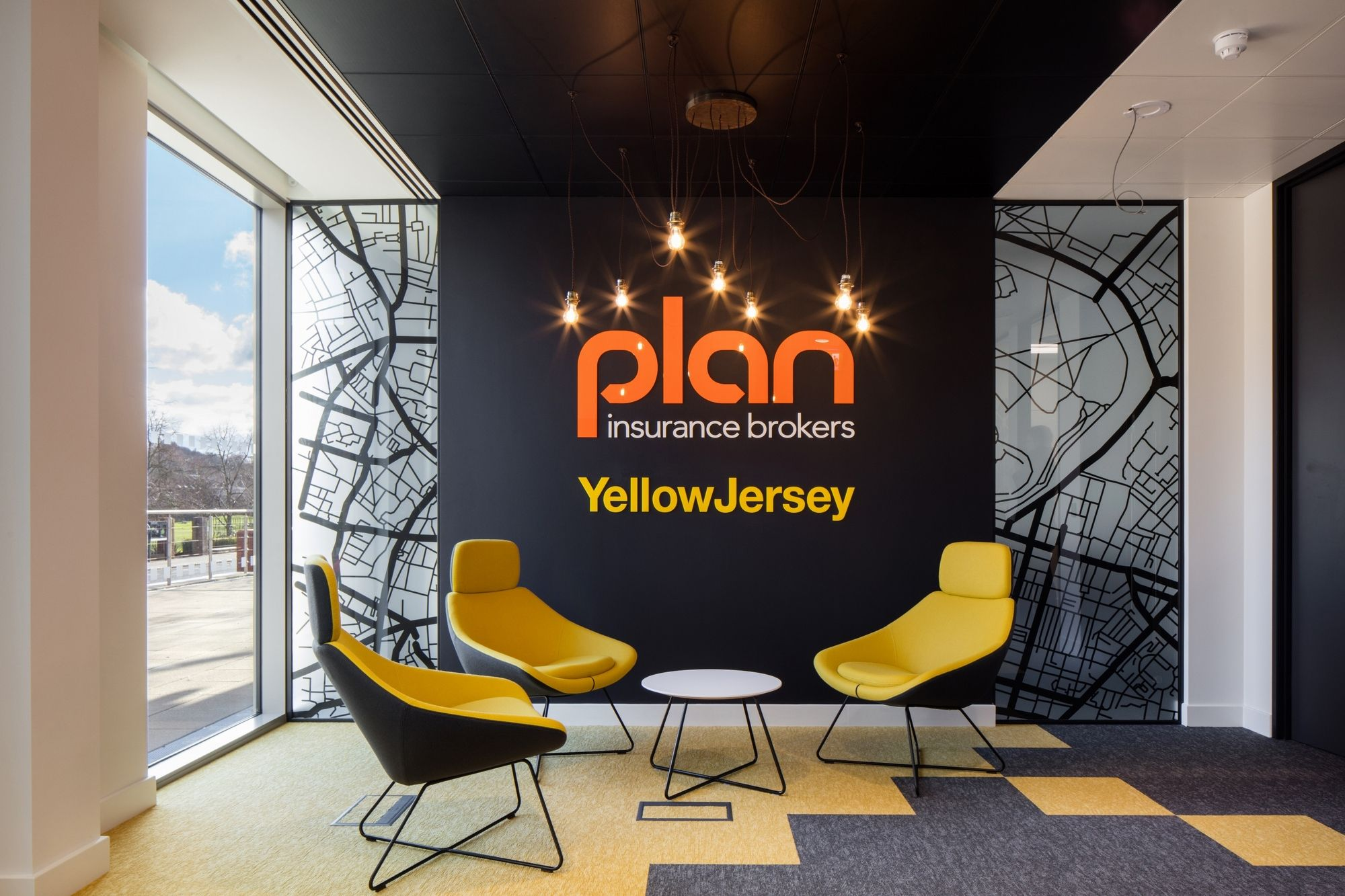 Plan Insurance Offices Redhill Office Wall Graphics Office