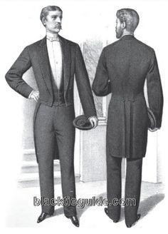 Victorian Men's Fashions, 1850 1900: Coats and Jackets