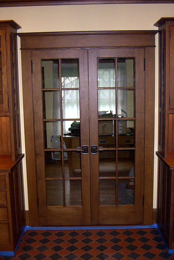 Bifold French Doors Home Design Ideas Pictures Remodel: Craftsman Style Home Interiors