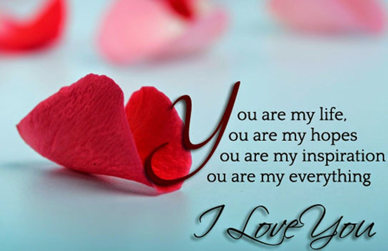 Free Hd I Love You Wallpapers Cute I Love You Images Hd Wallpapers