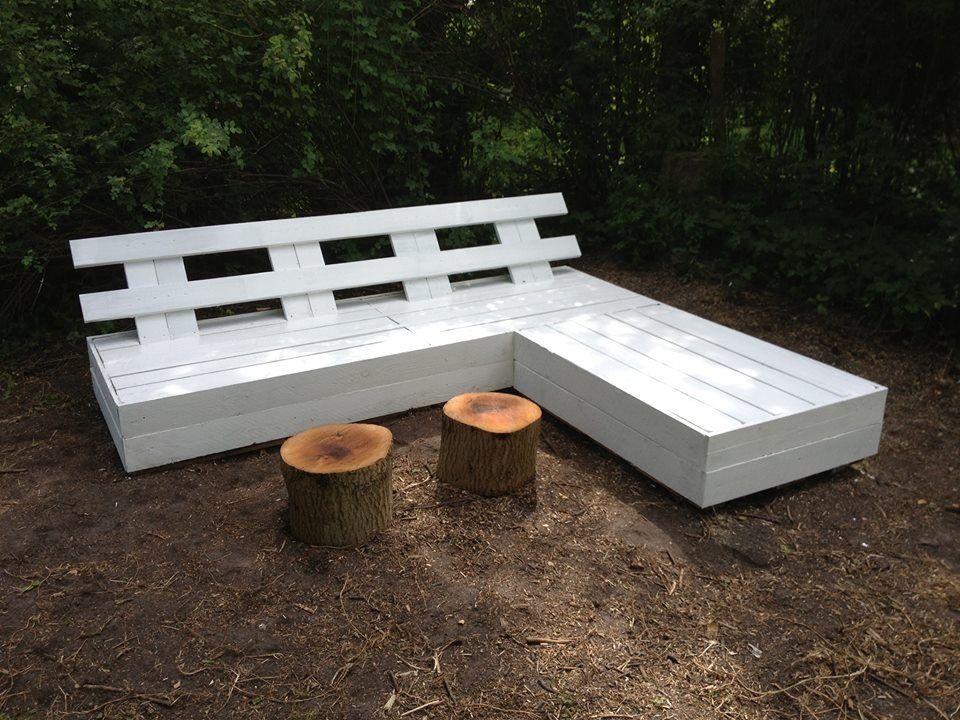L Shaped Pallet Bench Pallet Furniture Wooden Pallet Furniture Pallet Furniture Instructions
