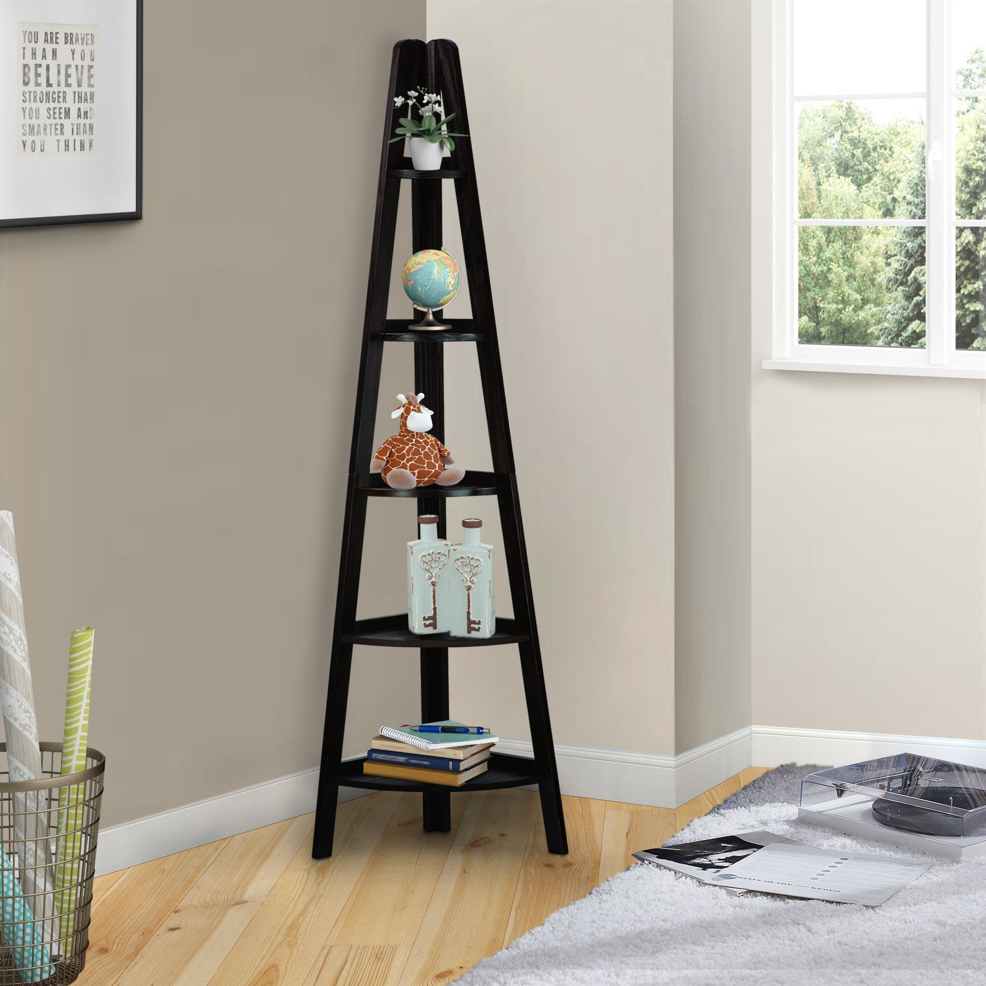 Ashley ladder bookcase products pinterest ladder bookcase and