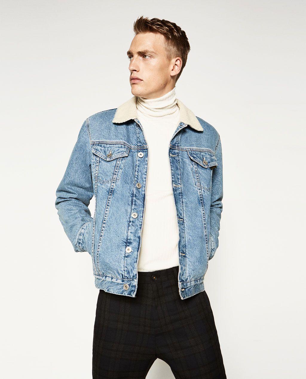 Jean homme Vestes Plis Homme Blouson Zara En Zara A tQhsrdC