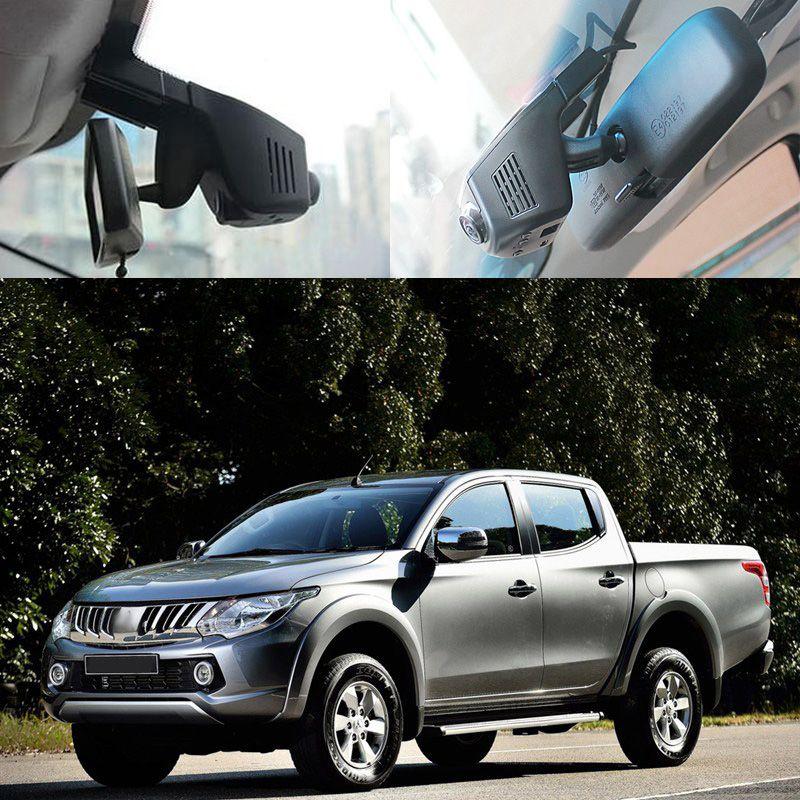 For Mitsubishi L200 Car Wifi DVR Car Digital Video Recorder FHD 1080P hidden installation G-sensor Dashcam Car Black Box