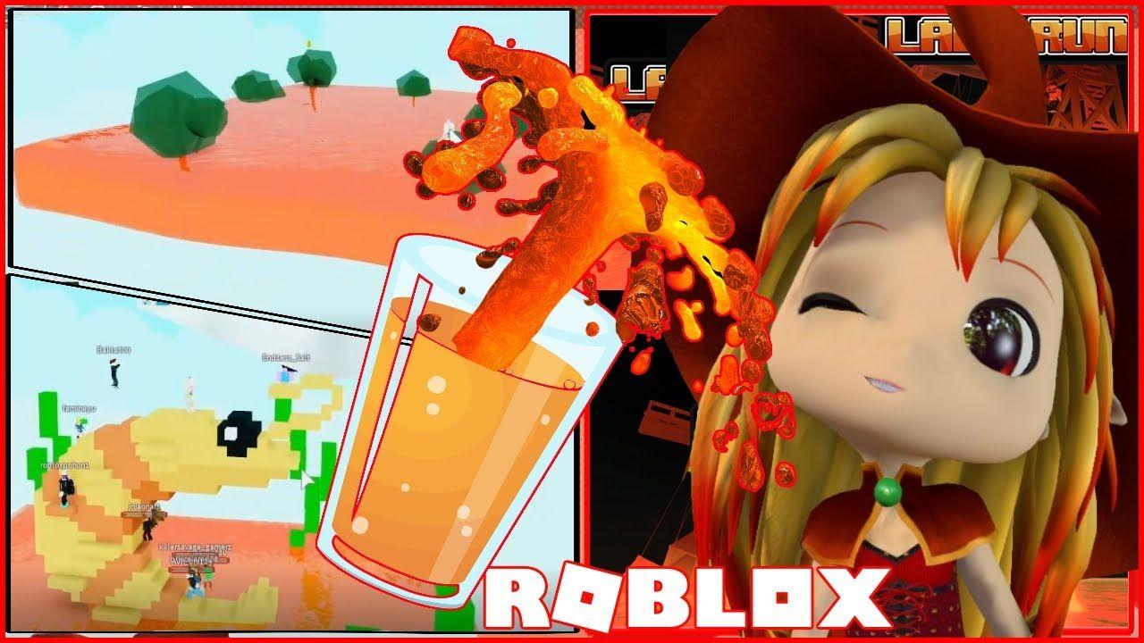 Code Rising Orange Juice Or Lava Roblox Lava Run In 2020
