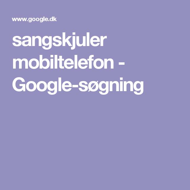 Sangskjuler Mobiltelefon Google Sogning Google