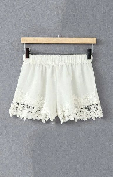 Boho Floral Lace Shorts – Trendy Road