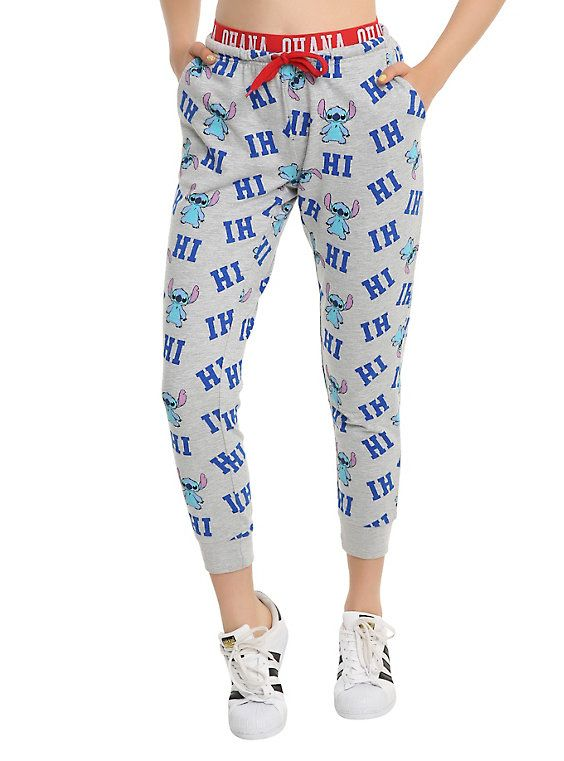 60cd96b7a02b4 Disney Lilo & Stitch Hi Print Girls Jogger Pants | neeeed. | Girls ...