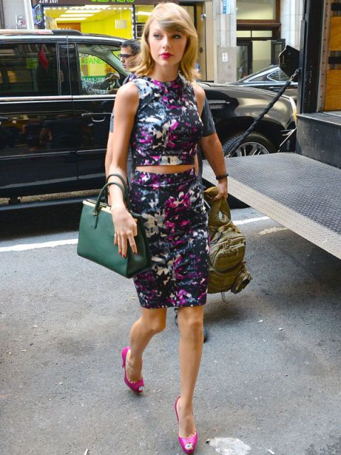 Taylor Swift Street Style | Taylor Swift New York Fashion
