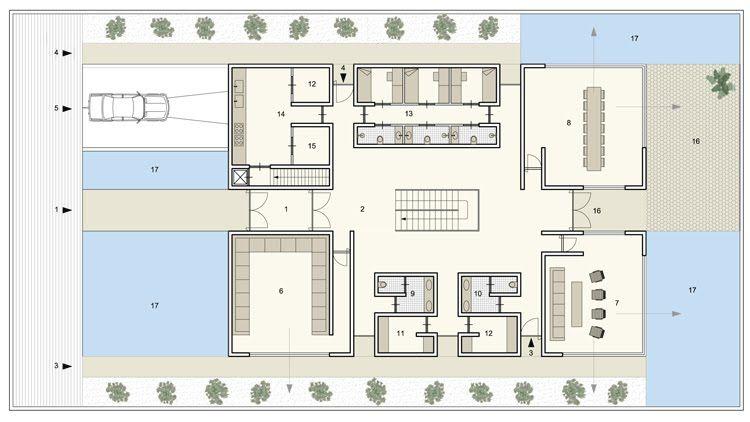 Luxury Villas In Riyadh Saudi Arabia By Orange Architects Villa Plan Architecture Luxury Villa