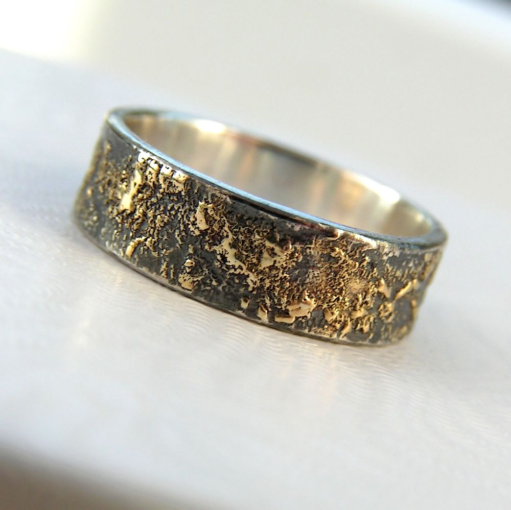 jewellery unique rei rustic band wedding product with anna texture chaos silver rings sterling finish oxidized