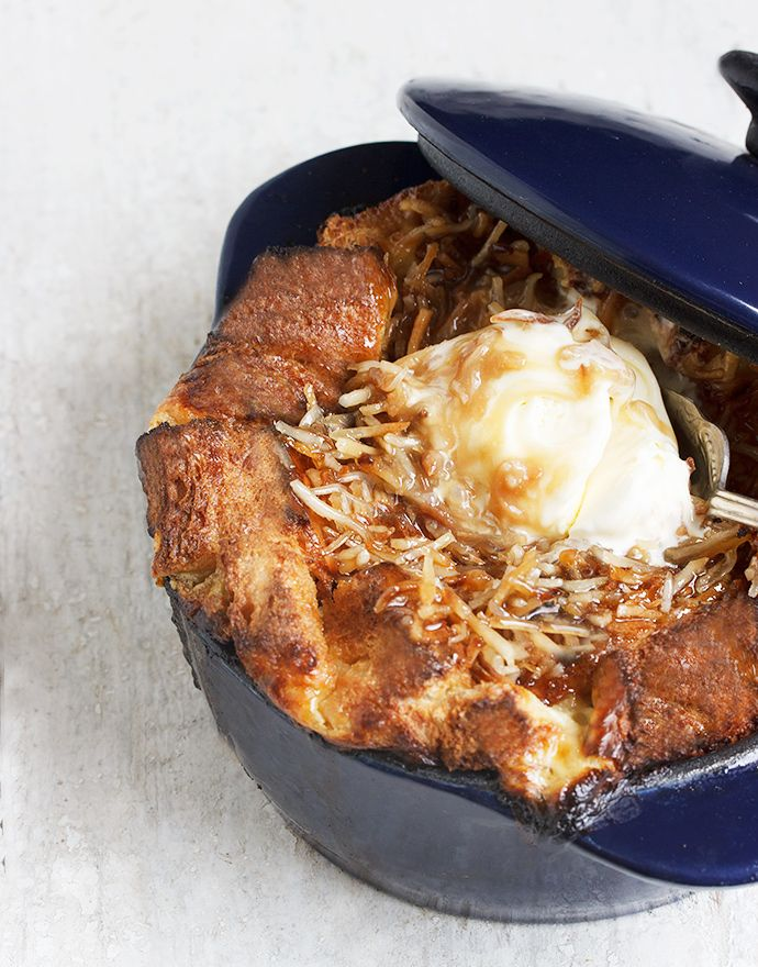 Banana Bread Pudding with Coconut Caramel Sauce | Recipe ...