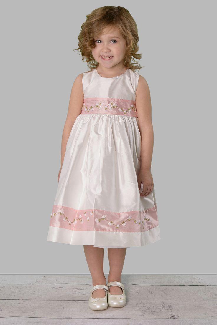 Lace dress pink  Pin by Gina Ornelas on Maddieus Baptism Ideas  Pinterest  Baptism
