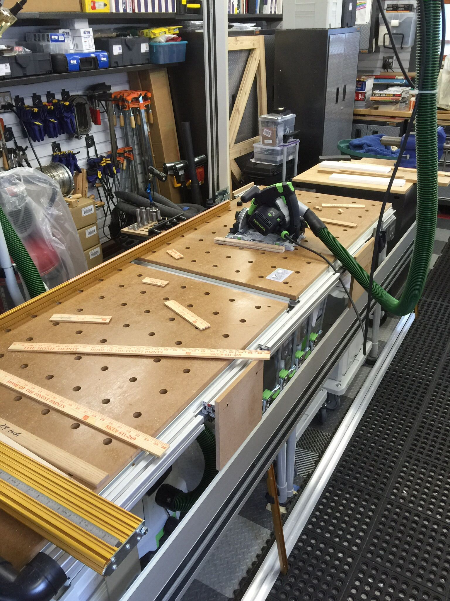 Cutting Table Festool Jigs And Tool Enhancements In 2019