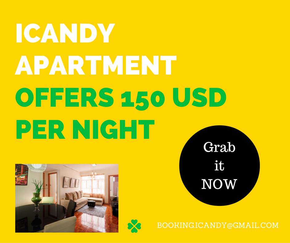 Earlybird rate is now open for iCandy apartment \m/ GRAB IT NOW SINCE THIS OFFER IS LIMITED! What are you waiting for? My iCandy apartment would be the best accommodation for your stay in Hong Kong :)  Drop a message to booking.iCandy@gmail.com