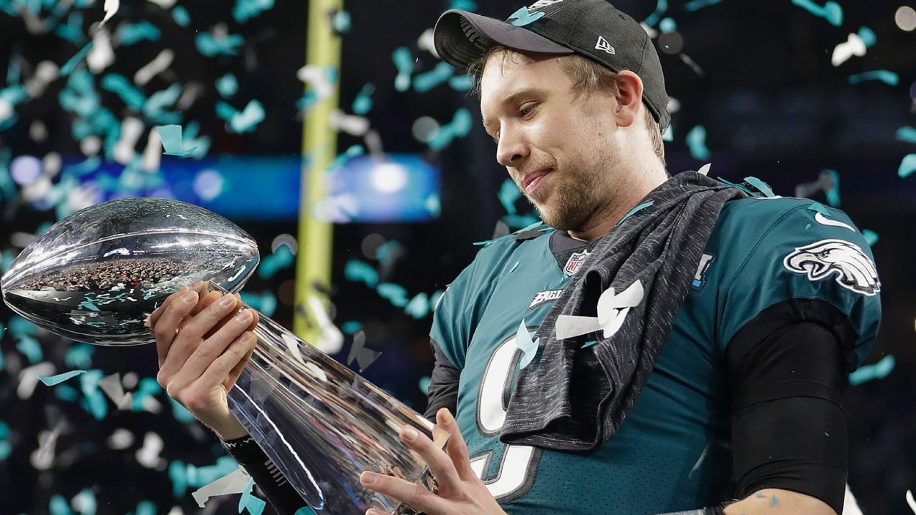 Super Bowl Mvp Nick Foles Gives America A Game Plan For Life Fantasy Football Football Super Bowl