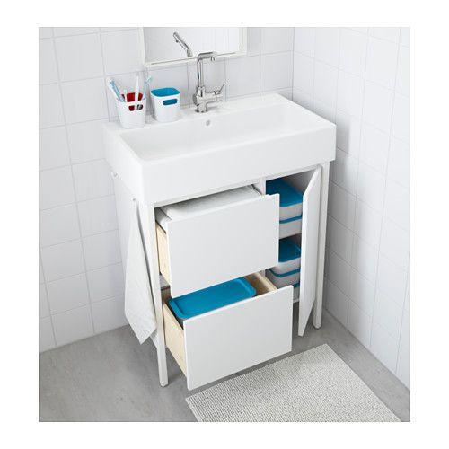 Yddingen Waschbeckenschrank 2 Schubl 1 Tur Ikea Home