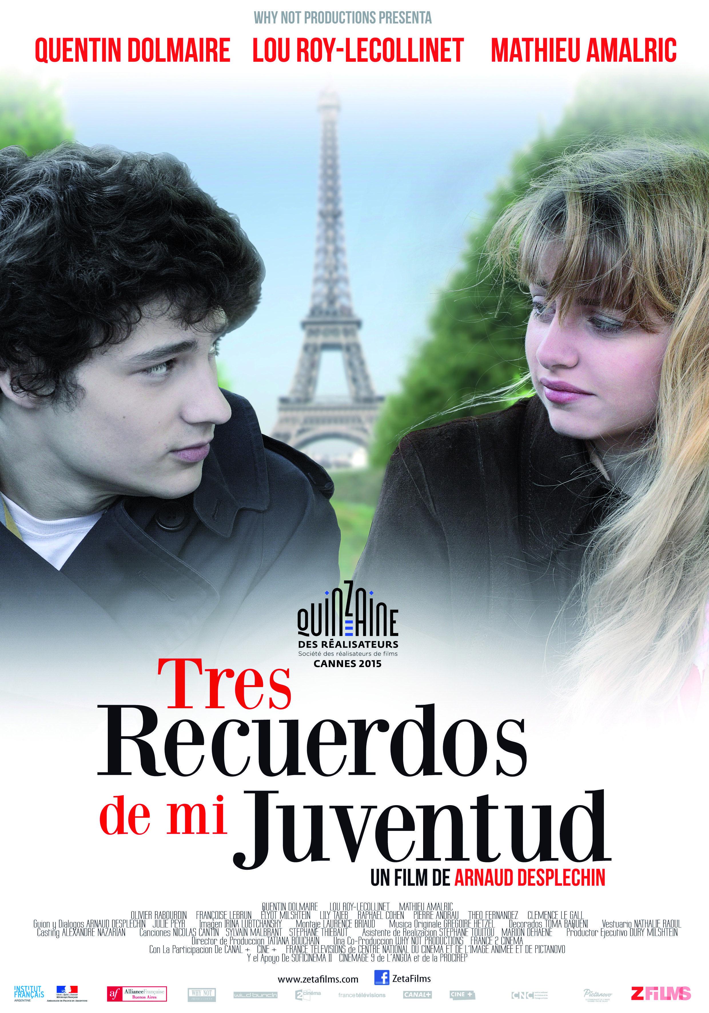 Tres Recuerdos de mi Juventud - Zeta Films / 3 de diciembre