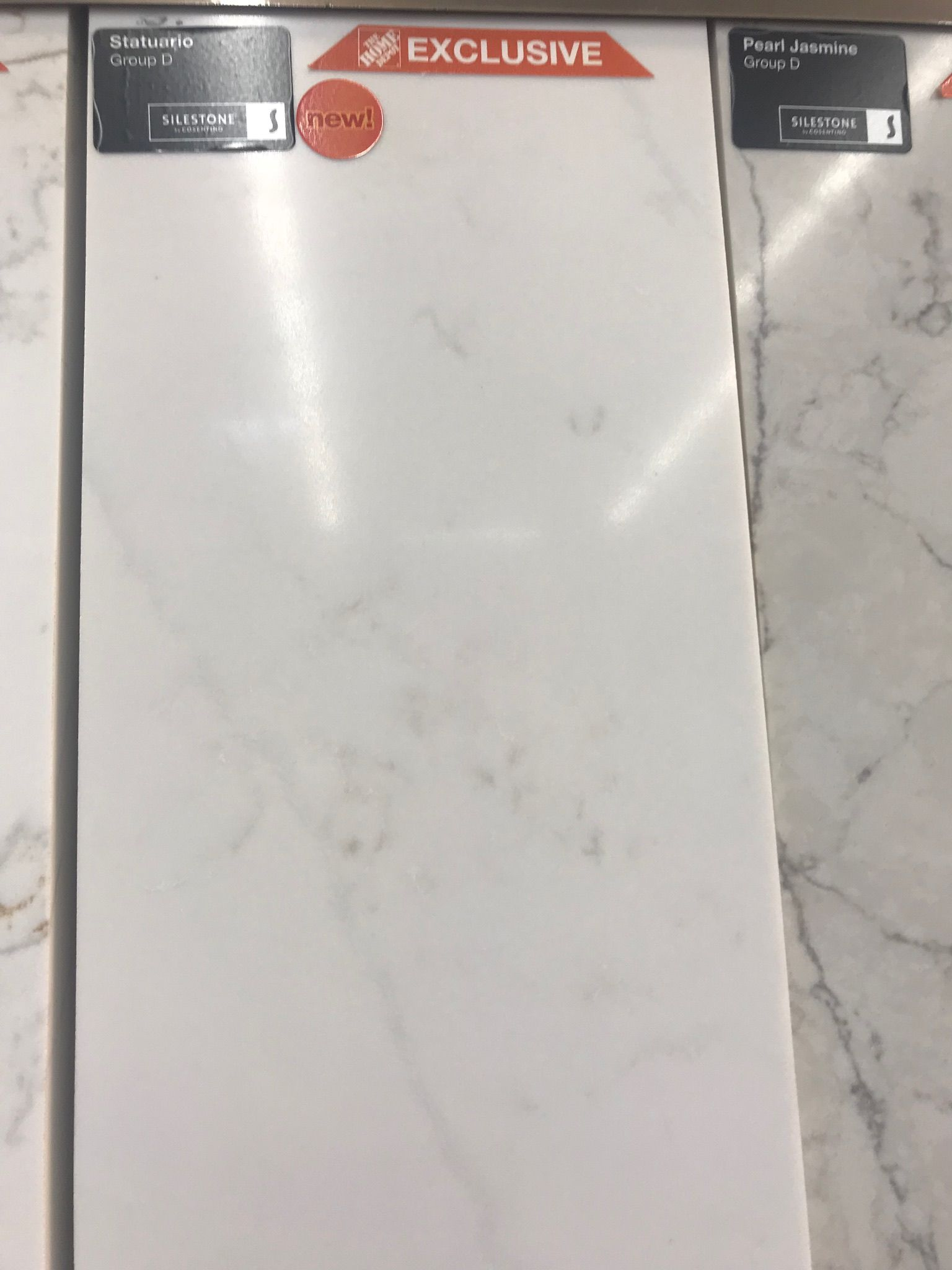 Silestone Statuario Sample Silestone Countertops Recycled Glass