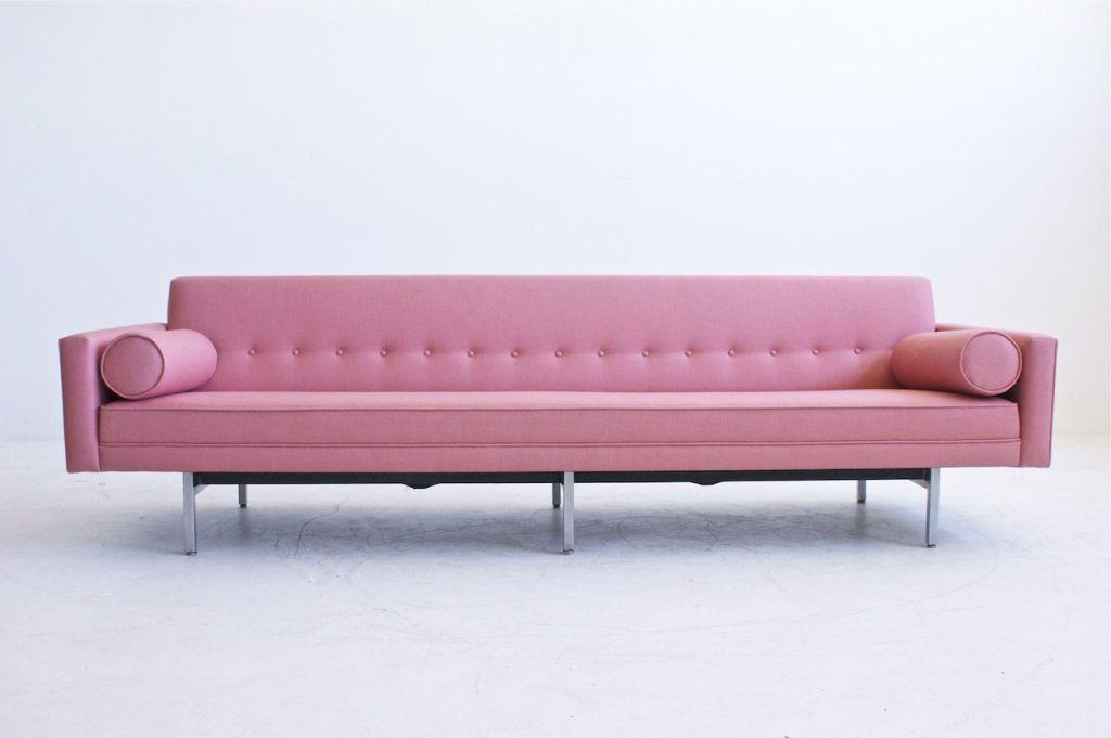 Vintage Herman Miller Pink Sofa My Heart Skipped A Beat Interiors