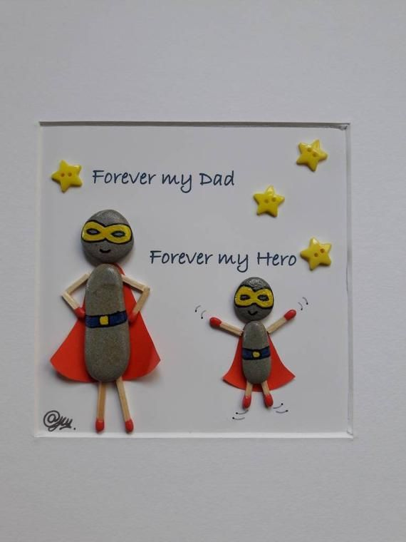 , Regalos Día del Padre, Papá present for Dad/Daddy/Him, his birthday, Superhero, personalised …, งานฝีมือในการขายบล็อก, งานฝีมือในการขายบล็อก