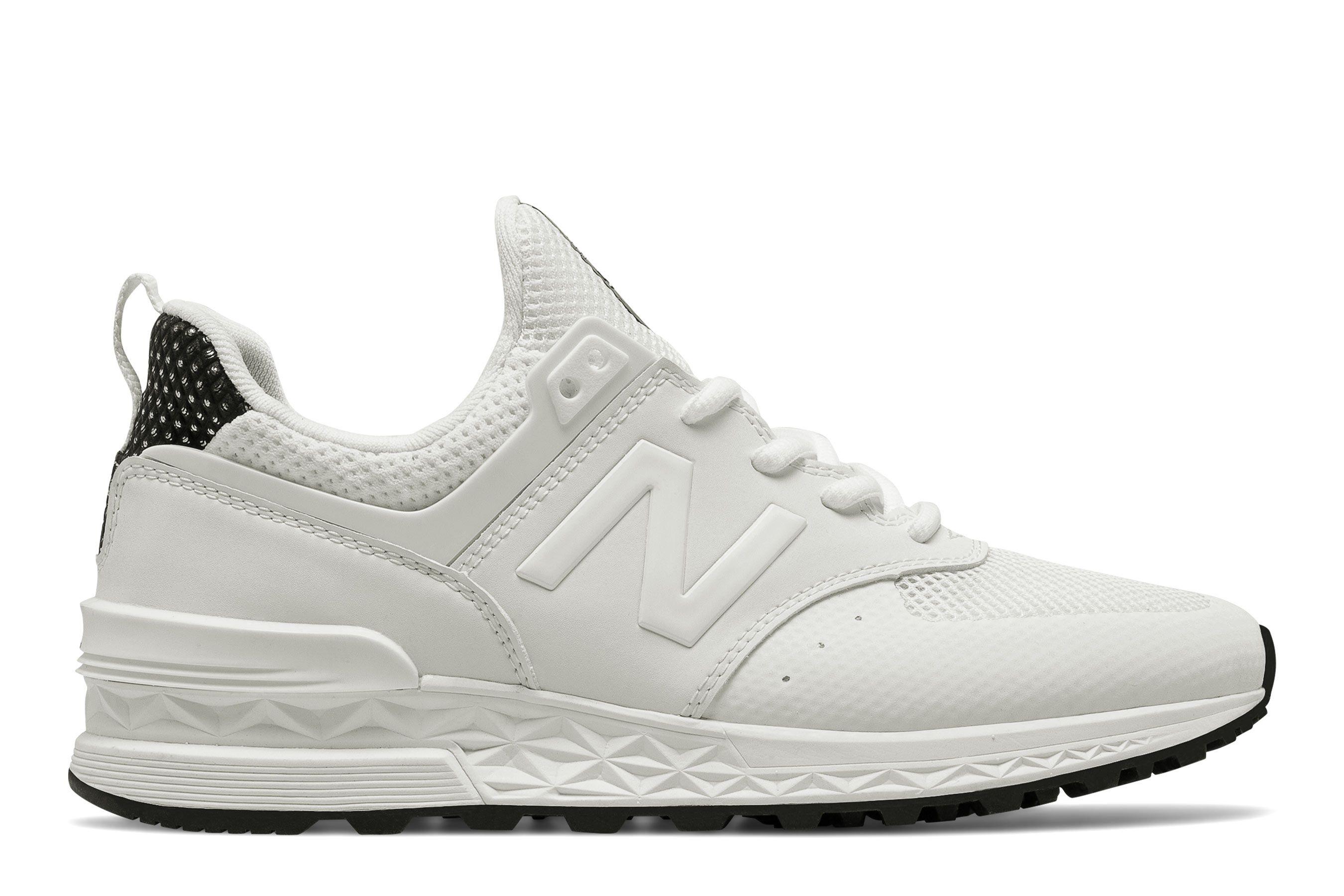 zapatillas new balance hombre blanco