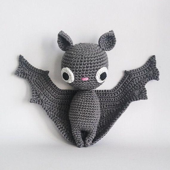 Crochet PATTERN for Batilda the bat amigurumi - EN ...