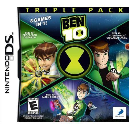Ben 10 Triple Pack Ds Walmart Com Nintendo Ds Ben 10 Game Store
