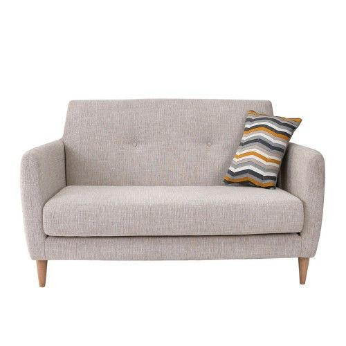 Torvi Two Seater Sofa 1099 00 54 W X 34 D X 32 H Seat Height 17 H Available In Almond Shown Jade Ches 2 Seater Sofa Sofa Seater Sofa