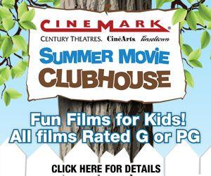 Cinemark Movies 8 kids movies 1 Kid movies, Summer
