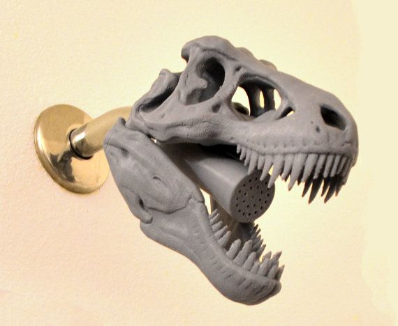 3d Printed Dinosaur Shower Head Shower Heads Prints 3d Printing