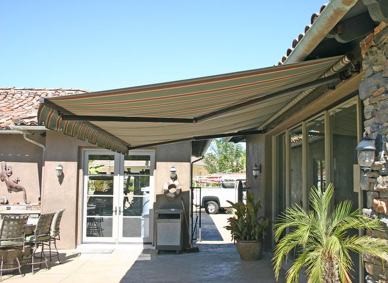 elite heavy duty retractable patio awning the home porch rh pinterest com