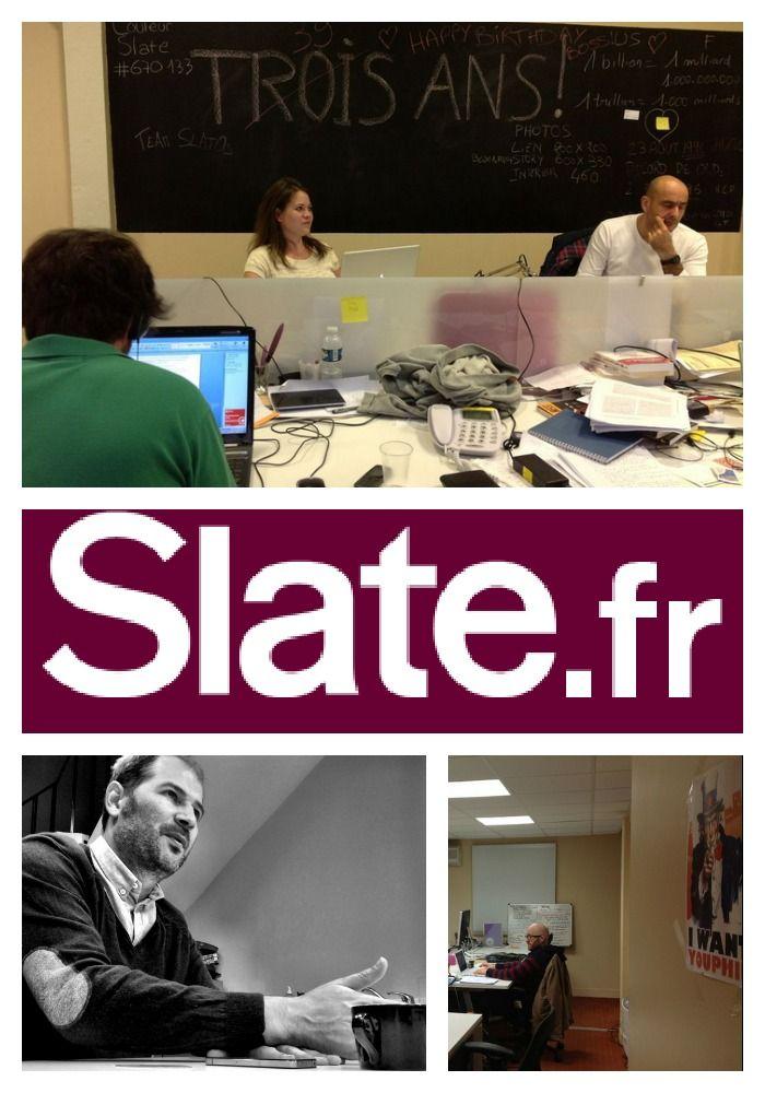 Una revista inteligente en la web. Eso es Slate.fr, un sitio que con un millón de visitantes por mes es el orgullo de Johan Hufnagel, cofundador del sitio, un periodista que sabe cómo se respira en las redacciones.