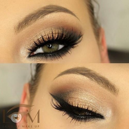 Eye ° makeup -  beauty -  eye -  #brown