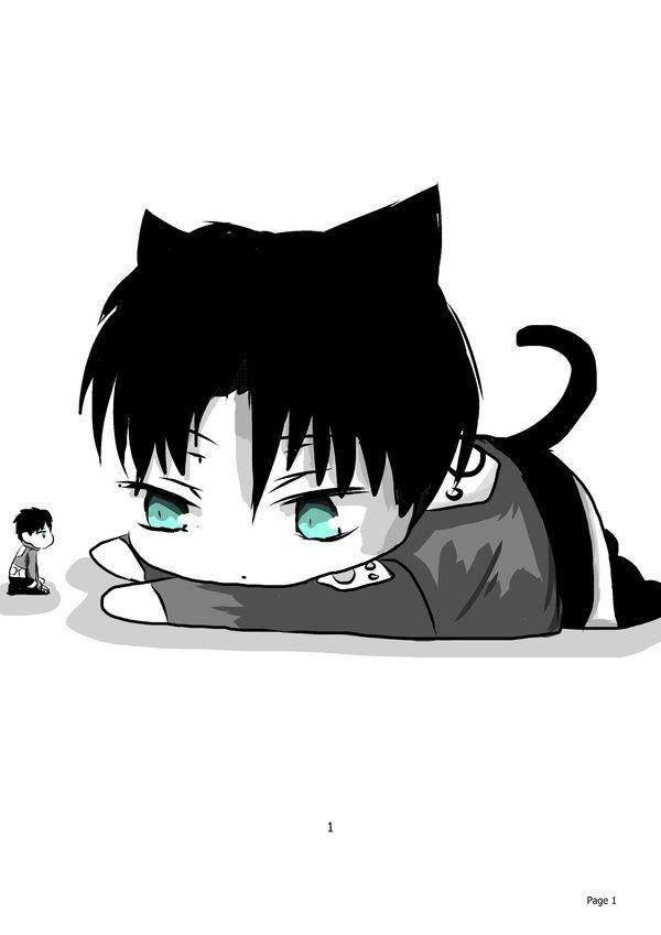 Titan_Kitty_Levi by xXxPentaGramxXx on DeviantArt