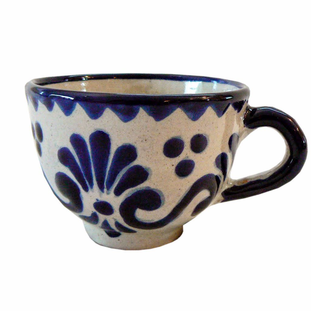 8a0238909c0 Talavera Mexican Pottery Cup collectible and functional found at ...