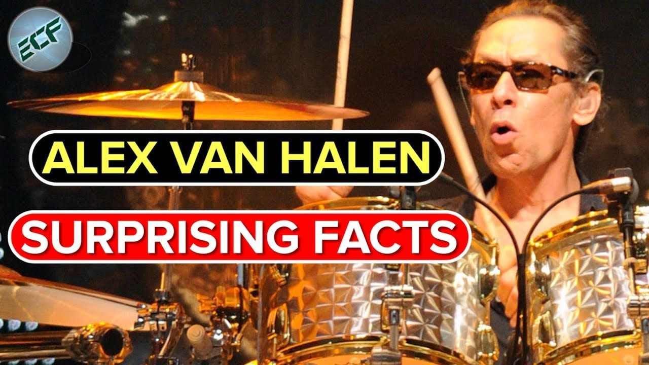 Alex Van Halen Is The Drummer Of The Famous Rock Band Van Halen Which He Started With His Brother Van Halen Alex Van Halen Eddie Van Halen