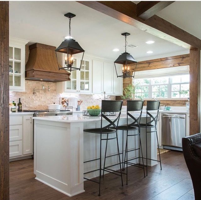 Image result for images of modern farm kitchens joanna for Joanna gaines style kitchen