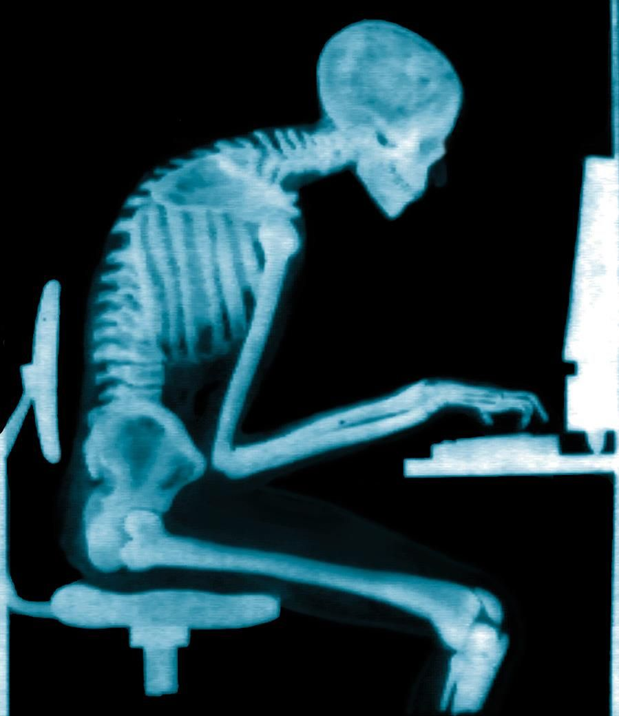 Is this you? Do you spend long hours slouching at your